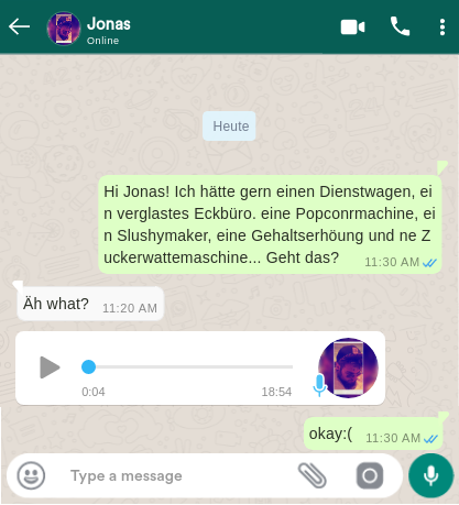 Deepfake Chat