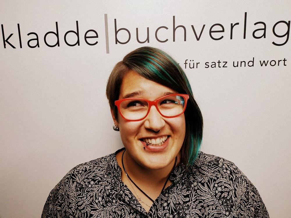 Lektorin beim Kladdebuchverlag: Lisa Helmus